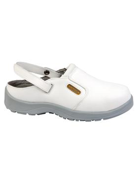 Pantofi albi Maubec