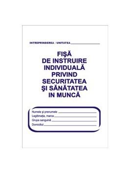 Echipamente de Protectie - Fisa de instruire SSM